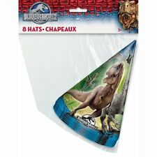 Jurassic World Party Hats, 8ct #350464