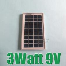 3W 9V Polycrystalline silicon Solar Panel charge for 6V Solar cell Battery poly