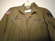 GENUINE USGI ARMY COMBAT VEHICLE CREWMEN'S COVERALLS CVCC SIZE LARGE SHORT G-15