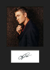 CHAD MICHAEL MURRAY #1 A5 Signed Mounted Photo Print - FREE DELIVERY