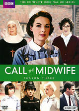 +++Call the Midwife: Season Three+DVD, 2014, 3-Disc Set+BBC+London++++