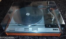 THORENS TD 125 DISQUE SUPER VINTAGE + SHURE V15 TYPE II VERY CLEEN