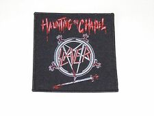 SLAYER HAUNTING THE CHAPEL WOVEN PATCH