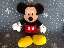 "THE DISNEY STORE MICKEY MOUSE 16"" TALL SOFT PLUSH TOY EXCELLENT CONDITION"