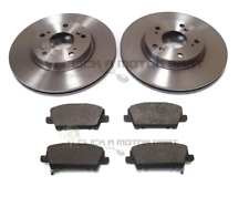 EBC FRONT DISCS AND PADS 330mm FOR LANCIA VOYAGER 2.8 TD 2011