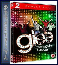 GLEE - THE CONCERT MOVIE/ GLEE ENCORE - DOUBLE PACK **BRAND NEW DVD**