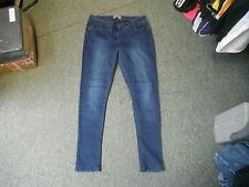"""George Super Skinny Jeans Talla 14 leg de 29 """"Faded Azul Oscuro señoras Jeans"""