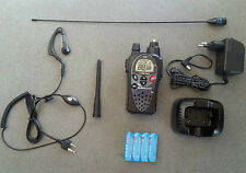 NEW MIDLAND G9 PMR/LPD EXPORT VERSION 5W W/SMA + BIG ANTENNA FLEX +SHORT ANTENNA