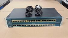 x2 Cisco Catalyst 2950 Series WS-C2950-24 Fully working with 2 month warranty