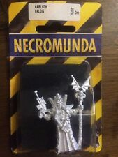 Necromunda Karloth Valois Plague Zombies New in Blister Metal Warhammer 40k