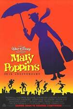 Mary poppins Original Movie Poster Double Sided 27x40