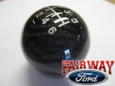15 thru 16 Focus ST OEM Genuine Ford Parts Carbon Fiber 6-speed Gear Shift Knob