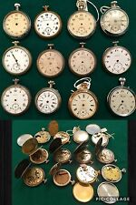 Job Lot Of Pocket Watches To Be Repaired For Parts Or For Collection, OCCASIONS