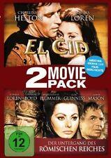 EL CID + DER UNTERGANG DES RÖMISCHEN REICHES (Sophia Loren) 2 DVDs NEU+OVP