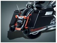 Kuryakyn 7273 Black/Smoke LED Saddlebag Extension