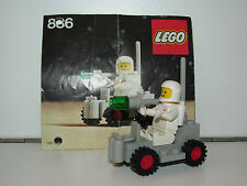 LEGO SPACE No 886 SPACE BUGGY 100% COMPLETE + INSTRUCTIONS - 1980s