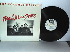 THE COCKNEY REJECTS The Wild Ones LP Vinyl Holland 1982 Pete Way Of The Rocker