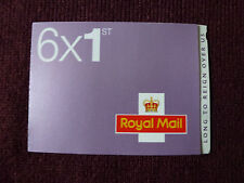 Book (6 stamps)Special Limited Edition Amethyst 'Long Reign' UK Stamps