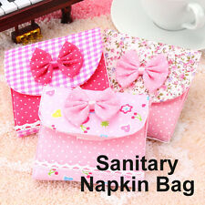 Cute Sanitary Napkin Towel Pads Small Bag Purse Holder Organizer