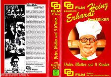 """VHS - """" Vater, Mutter und 9 ( neun ) Kinder """" (1958) - Heinz Erhardt"""