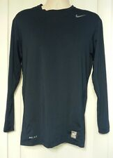 Nike Pro Combat Core Compression Shirt Long Sleeve Navy XXL 336713