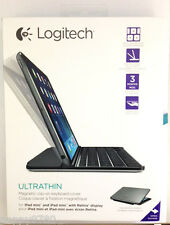 New Logitech Magnetic Ultrathin Bluetooth Keyboard iPad Mini 1, 2 & 3 Space