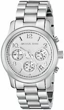 Michael Kors Women's Runway Silver Analog Watch MK5076