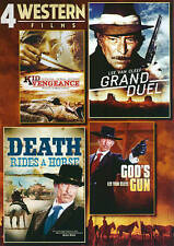 4-Film Western Pack V.1: Kid Vengeance / Grand Duel / Death Rides a Horse / God'