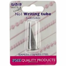 PME #1 Writer Tube Stainless Steel Icing Fondant Piping Decorating Nozzle Tip