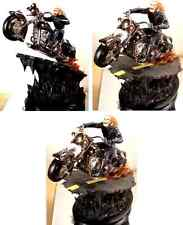 Black Chrome Ghost Rider Statue  Bowen Designs Marvel Comics 2004