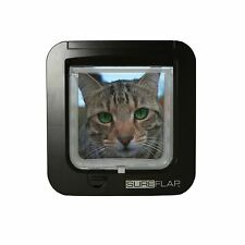 Sureflap Microchip Cat Flap - Brown Posted Today if Paid Before 3pm
