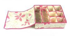 Periea Drawer Organiser, Storage Box, Wardrobe Organizer, Socks - Colleen - Pink