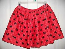 "NWT The Children's Place China Red Poodle Skirt XL 14 ""So Cute"""
