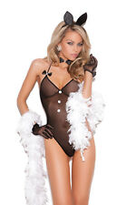 Bunny Rabbit Playmate Lingerie O/S 8 10 12 14 Elegant Moments Christmas Present