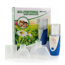 Handheld Battery Ultrasonic Nebulizer Atomiser Nebuliser Respirator Inhaler Aid