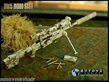 1:6 ZY Toys Desert Camo ZY-8036C LRSW TAC-50 Sniper Rifle Model F 12'' Figure