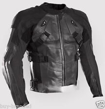 DeadPool Motorbike Leather Jacket Racing Biker Cowhide Motorcycle SportsXS-4XL