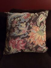 "Pottery Barn~Reza Palampore~Indoor/Outdoor Floral Print Pillow~24""~NWT"