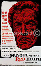 The Masque of the Red Death Vincent Price Movie 11x17 Poster