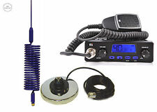 CB STARTER KIT CB RADIO + CB ANTENNA SPRINGER BLUE + MAGNETIC BASE TTI TCB-550