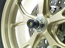 R&G Racing Rear Wheel Spindle Protectors to fit Ducati Monster 1100 / S 2009-