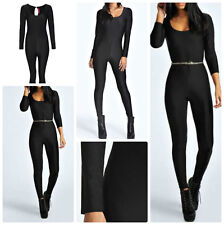 Sexy Ladies Disco Dance Unitard Jumpsuit  Catsuit Leotard Size 6UK/2USA/34EU