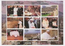 POPE JOHN PAUL II SOMALIA 2000 MNH STAMP SHEETLET