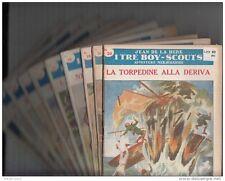 """JEAN DE LA HIRE - """"I TRE BOY-SCOUTS"""" 150 FASCICOLI SONZOGNO 1953"""