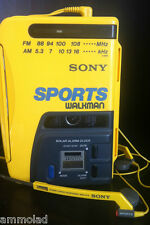 Original Vintage Sony Walkman Sports WM-AF58 Personal Cassette Radio Working
