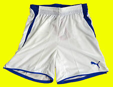 ~~ PUMA V-Konstrukt Kinder Jungen Shorts Trainings Hose Pants weiß Gr. 140 ~~
