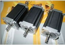 【German ship】3PCS CNC NEMA34 Stepper Motor 1232OZ-IN=8.7N.M,5.6A,118mm,4leads