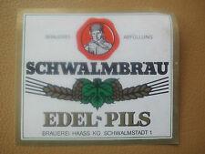 1 altes Bieretikett von der Brauerei Haass, Schwalmstadt