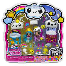 Kawaii Crush Day and Night Slumber Party with Morning Glory Dolls Figures Gift