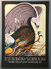 Aaron Horkey LA PLANETE SAUVAGE Print Poster signed numbered MONDO
